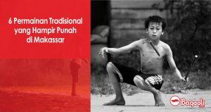 6 Permainan Tradisional yang Hampir Punah di Makassar
