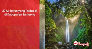 20 Air Terjun yang Terdapat di Kabupaten Bantaeng