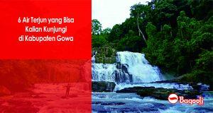 6 Air Terjun yang Bisa Kamu Kunjungi di Kabupaten Gowa