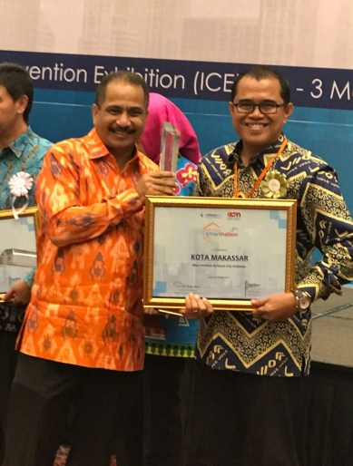 MOST PERFORM IN SMART CITY INITIATIVE DALAM INDONESIA SMART NATION AWARD (ISNA) 2018